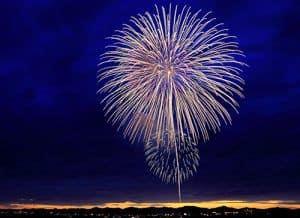 San Juan Island Fireworks