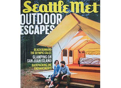 Lakedale Resort featured in Seattle Met Magazine