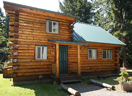 lakedale log cabins