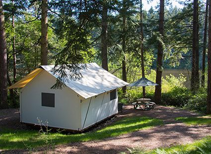 glamping in the san juan islands