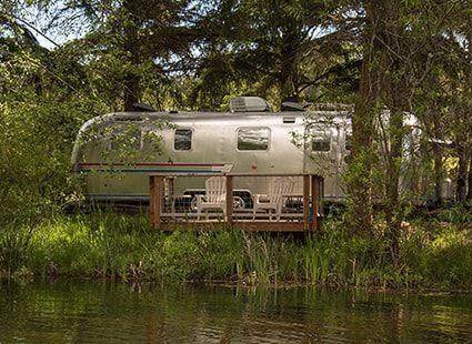 airstream camper San Juan island