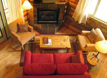 san juan cabin interior view