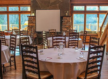 Lakedale Resort event space