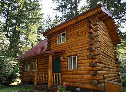 luxury log cabin vacation rental