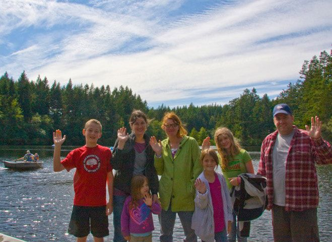 family camping and activities in Friday Harbor