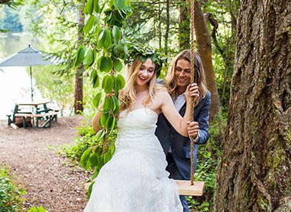 wedding photos at Lakedale Resort