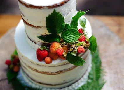 San Juan wedding cake