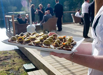 yummy appetizers for the wedding reception