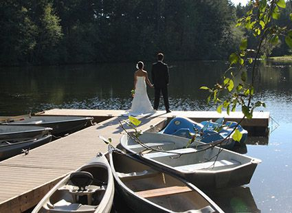 Wedding Photos on Neva Lake