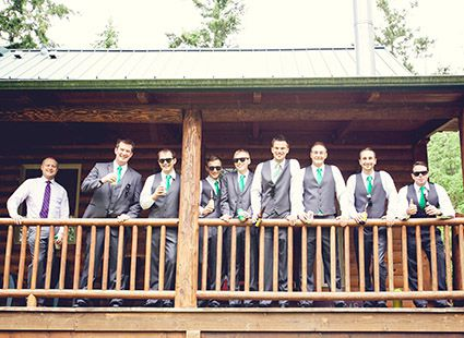 wedding party San Juans