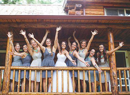 bridesmaids San Juan islands
