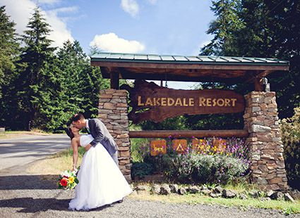 plan your wedding at Lakedale Resort