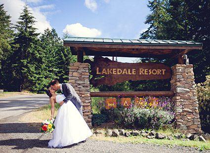 plan your wedding at Lakedale Resort