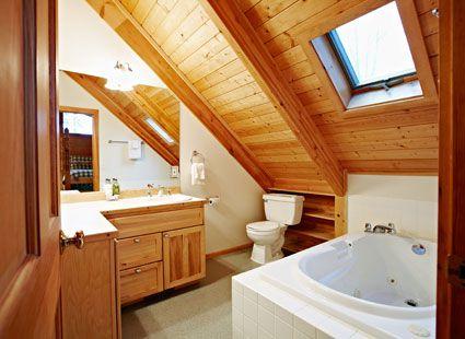 master bathroom lake house rental