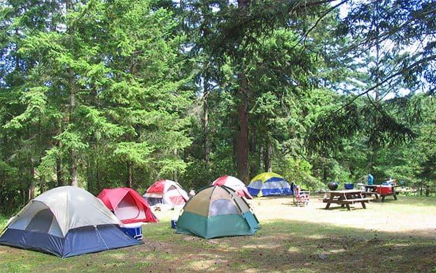 Camp tents at 620x390