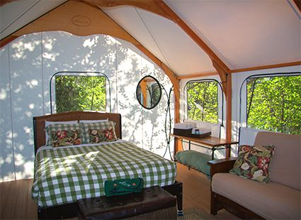 Glamping & Luxury Camping on San Juan Island - Lakedale Resort