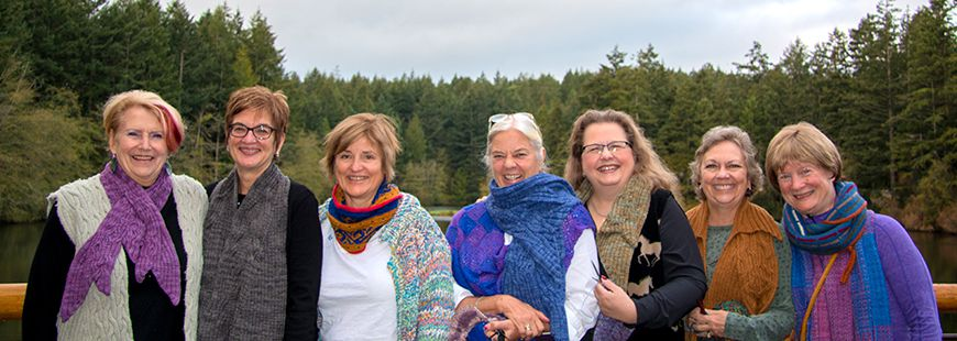Stories from Lakedale: A Knitting Retreat with Cat Bordhi