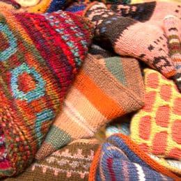 Bright knitwear