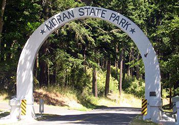 Moran State Park on Orcas Island