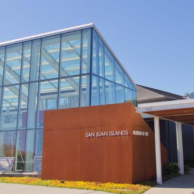 Entrance to the San Juan Islands Museum of Art