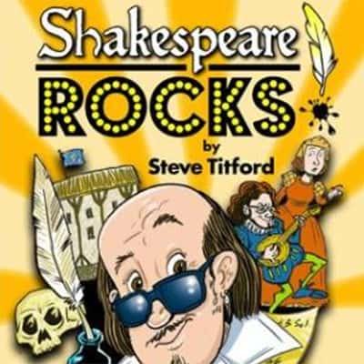 Playbill for Shakespeare Rocks by Steve Titford