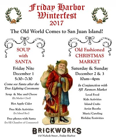 Details of the Friday Harbor Winterfest 2017