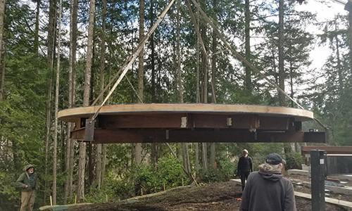 Yurt Base Construction
