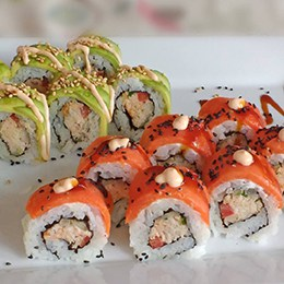 Rolling Sushi with your Sweetie!