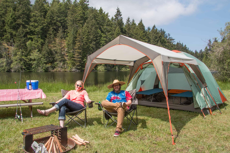Lakedale Resort San Juan Island WA Campsite 110