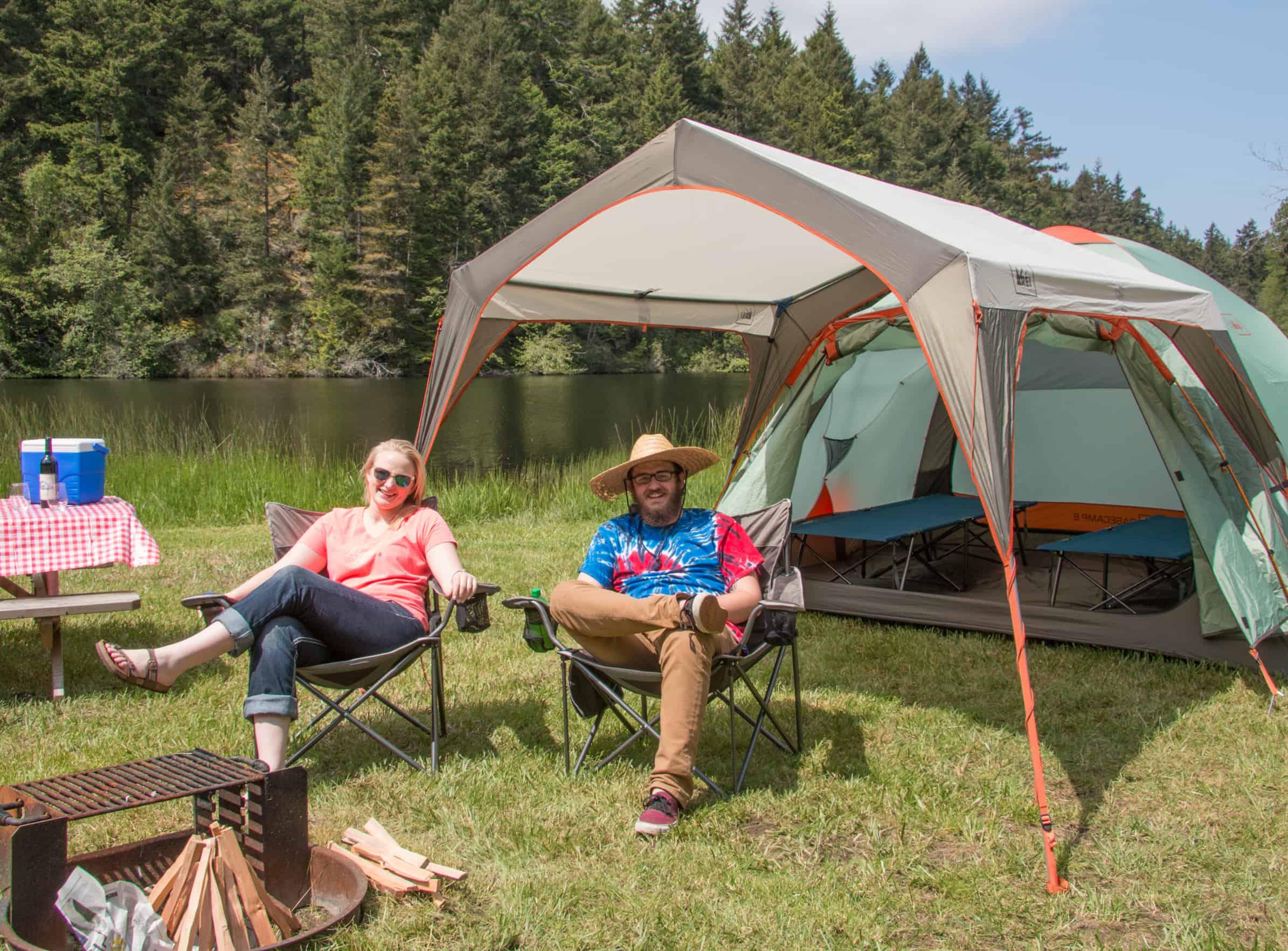camping Ez at Lakedale