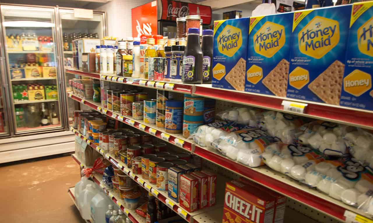 1280 GS groceries