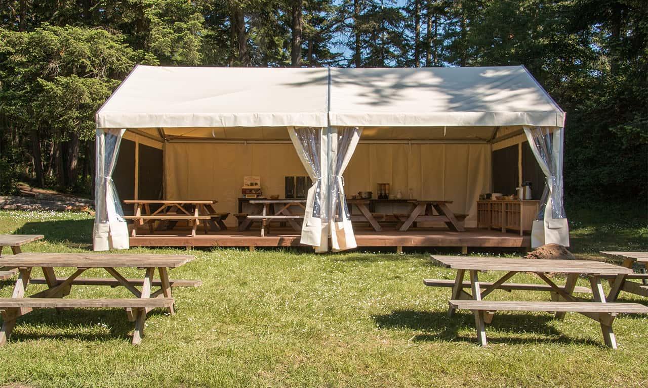 1280 Mess tent
