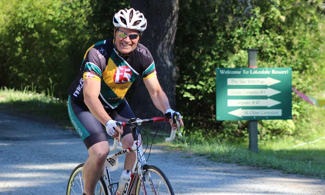 1280 Triathlon biker
