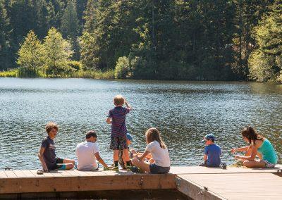 1280 camping Summer at the docks