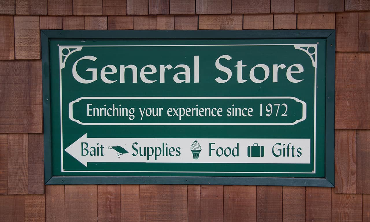 1280 general store sign