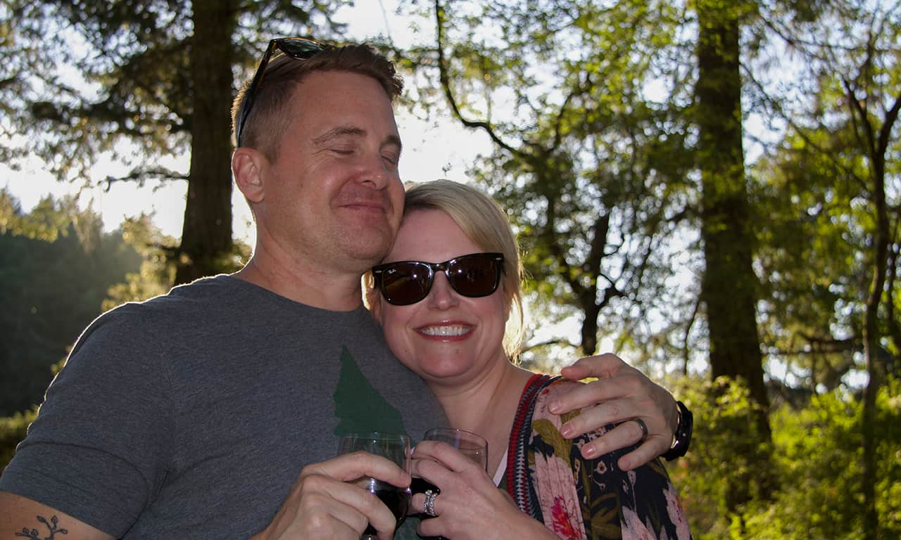 1280 happy couple at Gourmet Glamping