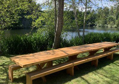 1280 long table at lodge