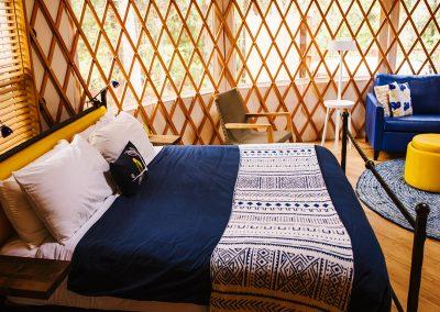 yurt at Lakedale