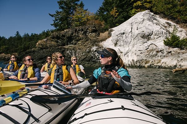 Discovery kayak instructor