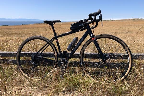 Biking on San Juan Island